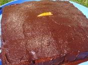 Gâteau l'orange ganache chocolat