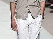 chemise blouson coton ficelle chez Hermès
