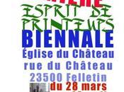 """""""Esprit Printemps"""" Biennale peinture monumentale Felletin"""