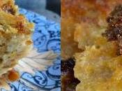 Pudding Brioche Lait coco, Rhum, Vanille Muscovado Noir