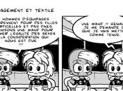 Engagement textile nouvelle page manga Bubblegôm
