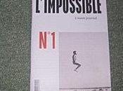 nouveau mensuel L'impossible