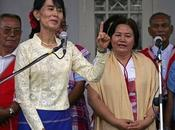 Aung rencontre chefs l'ethnie rebelle karen pour construire avec paix réconciliation nationale Birmanie