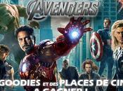 Avengers, goodies places ciné gagner