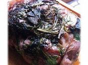 Selle d'agneau croute d'herbes