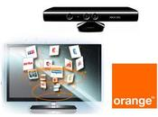 d'Orange disponible Xbox Microsoft avec Kinect