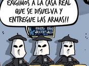 Juan Carlos éléphants dans caricatures