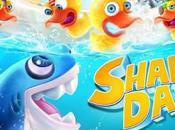 Shark Dash, chasse canard baignoire ouverte
