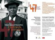 "L'exposition PORTRAITS D'INSURGES""."