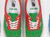 première collaboration pour Vans Kenzo partenariat chaussures hautes couleur