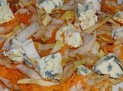 Salade endives, carottes, raisins secs roquefort