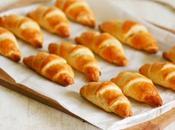 Mini croissants, finger fourme, gâteau cookies recettes semaine (S16/2012)