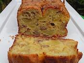 Cake pommes andouillette huile noisette