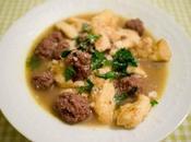 Knepfles boulettes boeuf bouillon