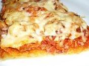 pizz' avec polenta guise pâte