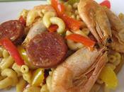 Paella coquillettes