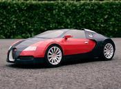 Bugatti Veyron papier