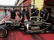 Lotus Grosjean haut feuille temps Mugello