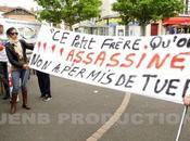 Noisy-le-Sec Marche blanche hommage Amine Bentounsi