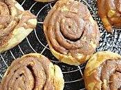 Cinnamon rolls glacage philadelphia milka