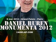 Daniel Buren encerclé Monumenta 2012 Grand Palais