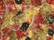Pizza Salami champignons Paris