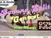 Banana split contest blogueurs lyonnais mode années