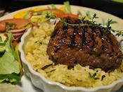 Steak boeuf romarin