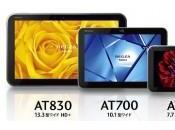 Toshiba Lancement nouvelles tablettes