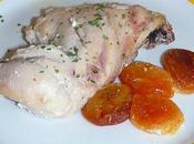 Papillote poulet abricots secs (recette légère)