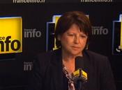 Martine Aubry «L'important gouvernement majorité forte Parlement»