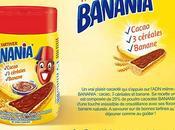 nouveau avec Banania: pâte tartiner flocons banane croustillants!