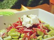 L'été avant l'heure: Salade fèves toute fraîche