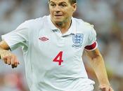 Angleterre Gerrard positive