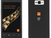 smartphone Orange avec Intel inside disponible juin (MAJ)