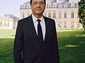 Portrait officiel François Hollande, Président République française (2012-2017)