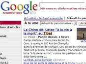 infos Tibet censurées Google News Chine