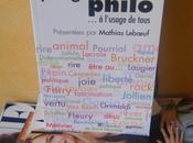 [Littérature] Plages Philo… l'usage tous