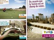communication touristique tunisienne déplacée
