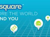 Foursquare Refonte complète l'application