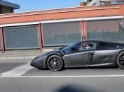Nouvelle Ferrari spyshoté dans Maranello