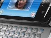 Sony Xperia mini atterrissage d'ICS