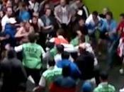 Stadiers roués coups hooligans Russes l'Euro 2012