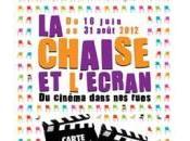 Chaise l'Ecran cinéma plein juin août