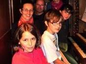 Élèves professeurs d'Oyonnax trois claviers l'orgue Nantua