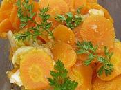 carottes braisées oignons