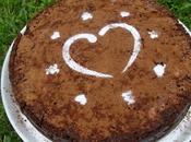 Gâteau fondant chocolat-café