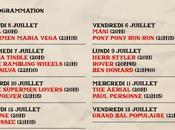 Soirs d'été Fnac Live, Festivals parisiens dévoilent leurs prog
