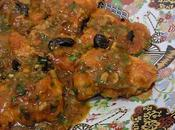 Filet poisson sauce tomate olives noirs