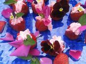 Tulipes fraises fourrées mascarpone méli-mélo fleurs